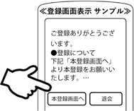 登録画面表示サンプル